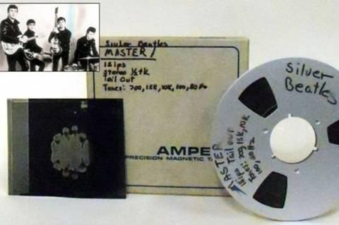 Στο «σφυρί» σπάνια ηχογράφηση των Beatles !(pics)