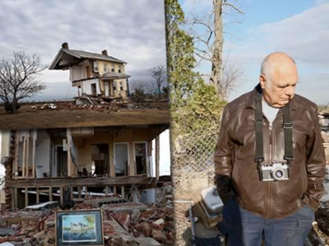 Το σπίτι που έσκισε στα δύο ο τυφώνας Σάντι ανήκει σε ομογενή