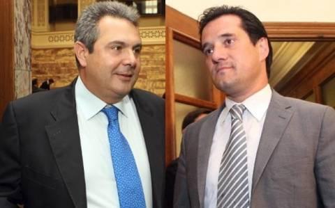 Καμμένος - Γεωργιάδης: Μάχη για το «Μαζί τα φάγαμε»