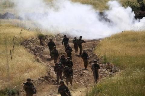 Συριακό βλήμα έπεσε κοντά σε ισραηλινό στρατιωτικό όχημα