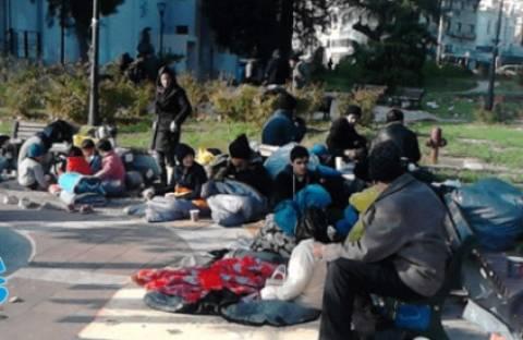 Το λιμάνι της Μυτιλήνης γέμισε λαθρομετανάστες
