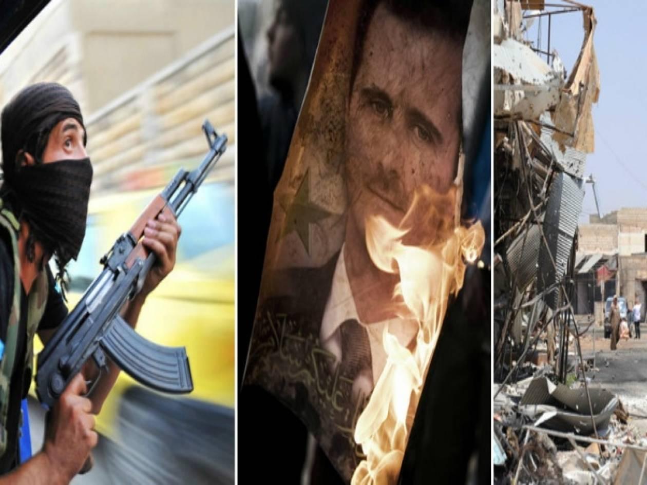Πάνω από 50 νεκροί σε επίθεση με παγιδευμένα αυτοκίνητα στη Συρία