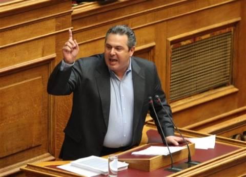 Καμμένος: Θα ψηφίσουμε την πρόταση του ΣΥΡΙΖΑ