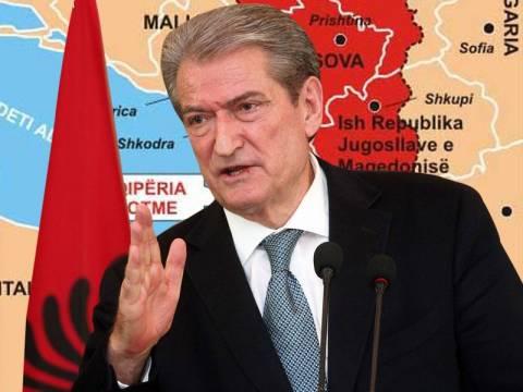 Αμετανόητος ο Μπερίσα: Δίκαιος ο σκοπός της  «Μεγάλης Αλβανίας»!