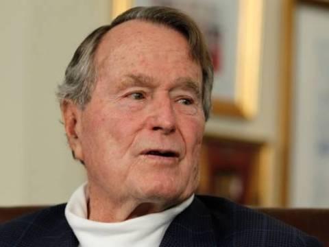 Στο νοσοκομείο μεταφέρθηκε ο Τζορτζ Μπους