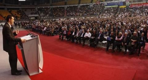 Τσίπρας: Συγκροτούμε ένα κόμμα της κοινωνίας και όχι του συστήματος