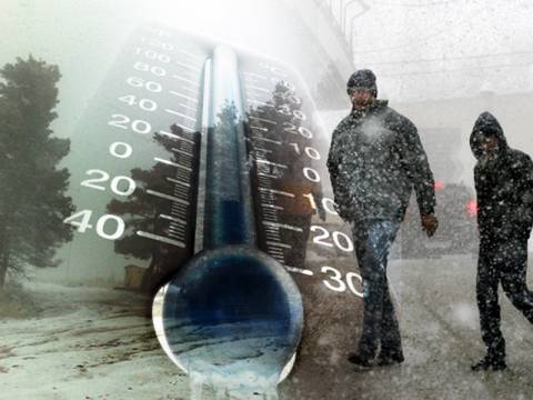Έρχονται χιόνια και νέα πτώση της θερμοκρασίας