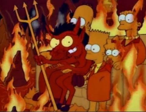 «Διαβολικό» επεισόδιο των Simpsons έφαγε πρόστιμο στην Τουρκία