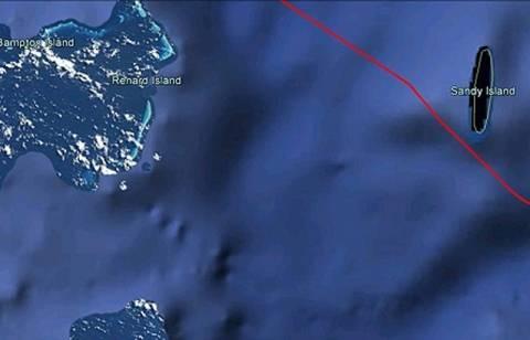 «Λάθος» στους χάρτες το νησί-φάντασμα στον Ειρηνικό