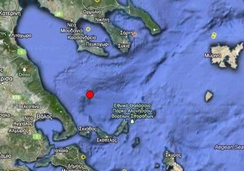 Σεισμός 4,1 Ρίχτερ στις Βόρειες Σποράδες