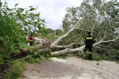 Καταστροφική θύελλα χτύπησε την παραλιακή περιοχή της Ξάνθης