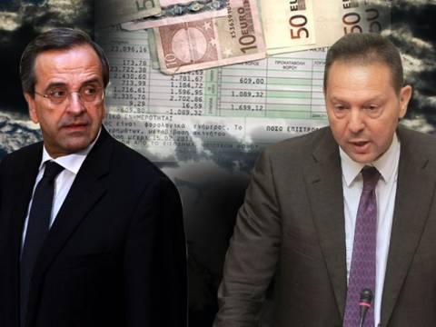Βίντεο: Σαμαράς και Στουρνάρας αλληλοδιαψεύδονται για το φορολογικό