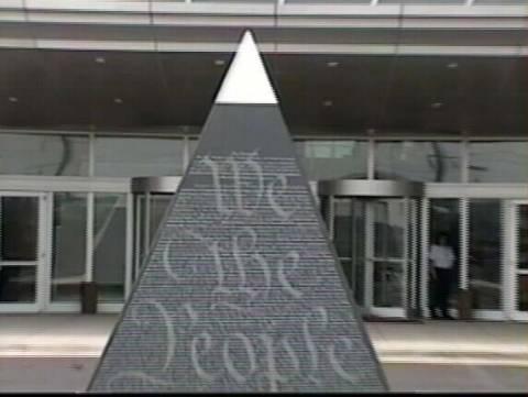 Σύμβολα της Μασονίας σε κυβερνητικό κτίριο του Μέριλαντ