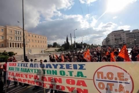 ΠΟΕ – ΟΤΑ: Στάσεις εργασίας και πορείες