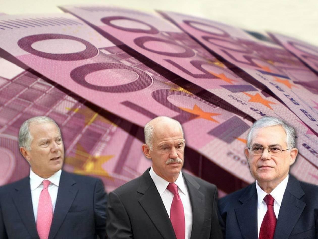 Θα πληρώσουμε 233 δισ. «σπασμένα» των τραπεζών!