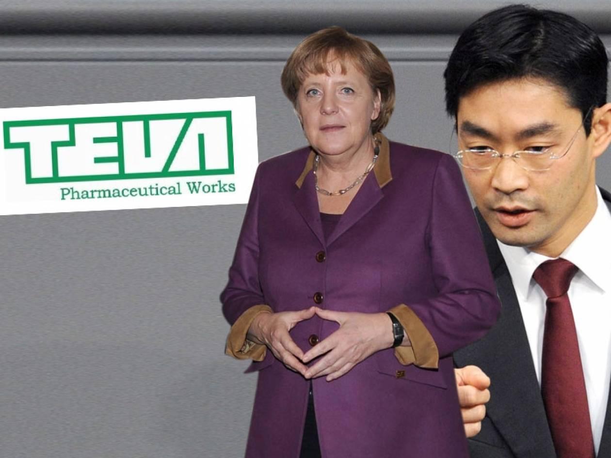 Το γερμανο-ισραηλινό φαρμακευτικό λόμπι κάνει ό,τι θέλει στη Γερμανία