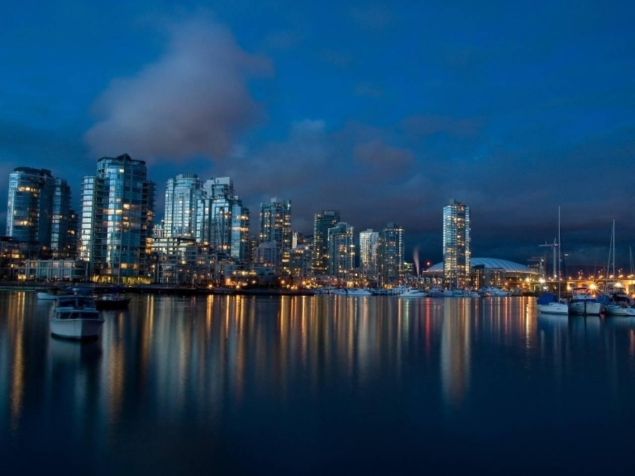 Βανκούβερ: Η πιο πράσινη πόλη στον κόσμο έως το 2020!