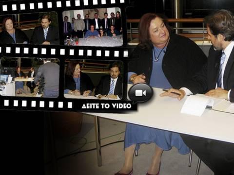 Μ. Γιαννάκου: Κουταμάρες τα σενάρια για «Φιλοευρωπαϊκό Κόμμα» (VIDEO)