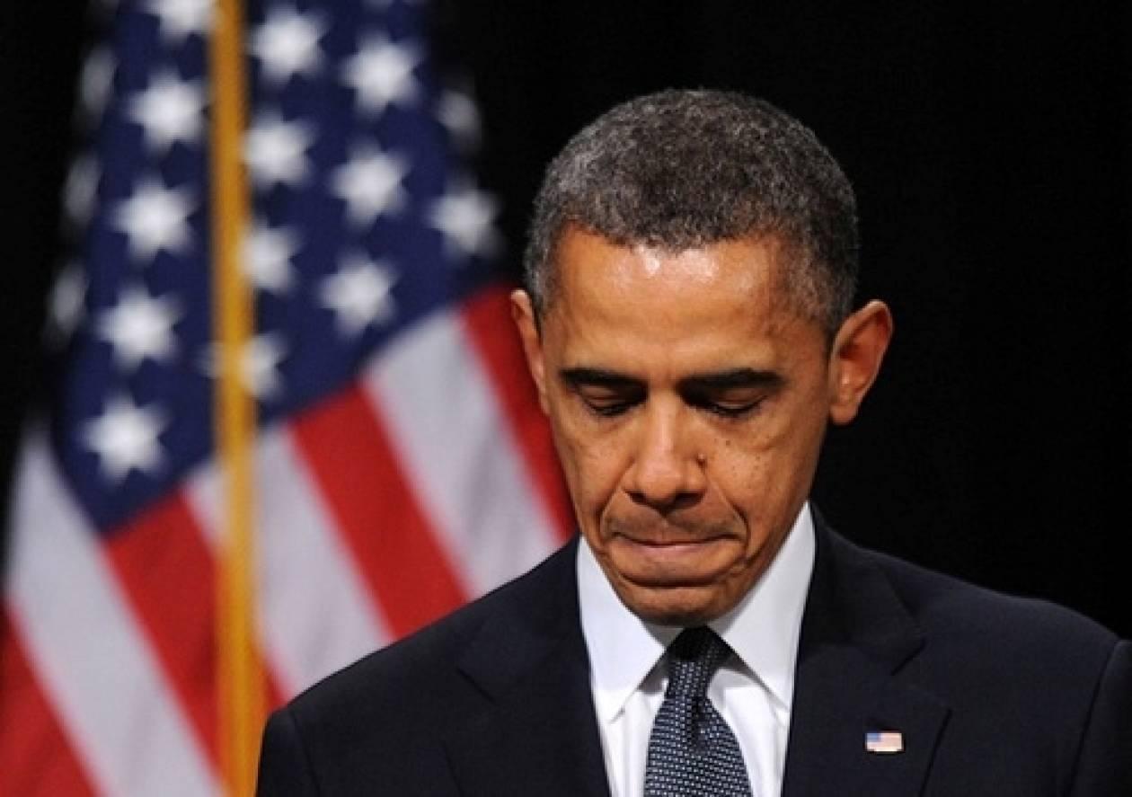 Βίντεο: Ο Ομπάμα επισκέφτηκε τον τόπο της τραγωδίας