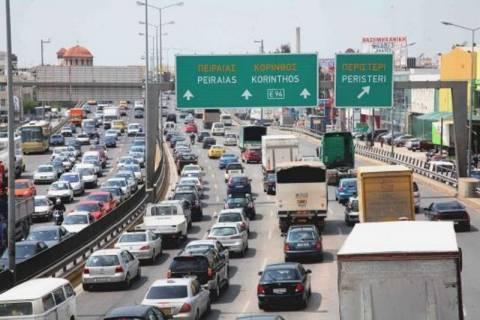 «Πάρκινγκ» η Αθήνα λόγω απεργία στα Μέσα Μεταφοράς