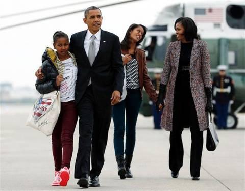 Χριστουγεννιάτικες διακοπές στη Χαβάη για την οικογένεια Ομπάμα