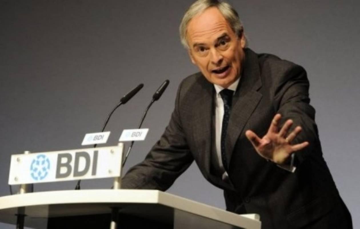 Ευρωπαϊκή εποπτεία για Ελλάδα θέλει ο Πρόεδρος των Γερμανών Βιομηχάνων