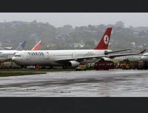Θρίλερ με αεροσκάφος των Τουρκικών Αερογραμμών