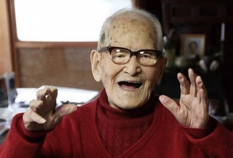 Ένας Ιάπωνας 115 ετών ο μακροβιότερος άνδρας στον κόσμο