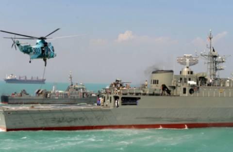 Το Πολεμικό Ναυτικό του Ιράν βγήκε στον Κόλπο