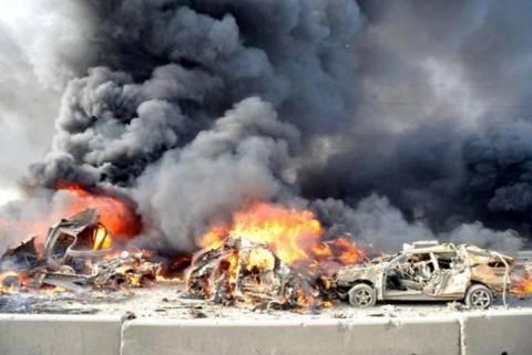 Συρία: Φονική αεροπορική επίθεση σε πρατήριο καυσίμων