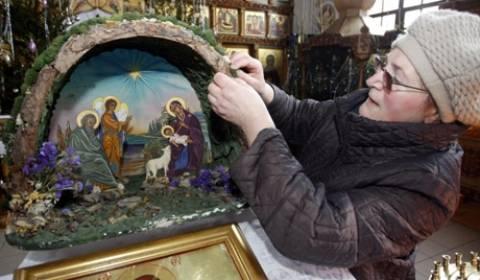 Ρωσία: Γιορτάζουν τα Χριστούγεννα στις 7 Ιανουαρίου