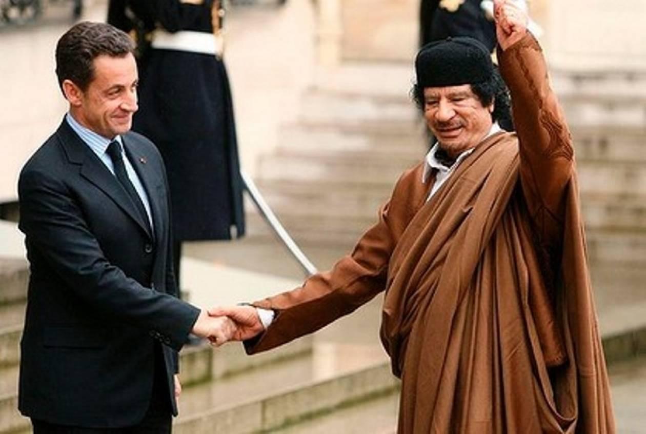 Ο Καντάφι είχε χρηματοδοτήσει τον Σαρκοζί με 50 εκατ. δολάρια