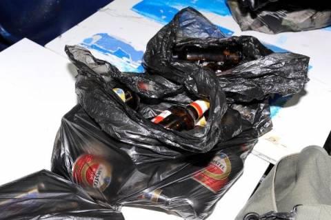 ΝΔ:Ο Τσίπρας θεωρεί ότι τα μπουκάλια για μολότοφ ήταν για ..ανακύκλωση