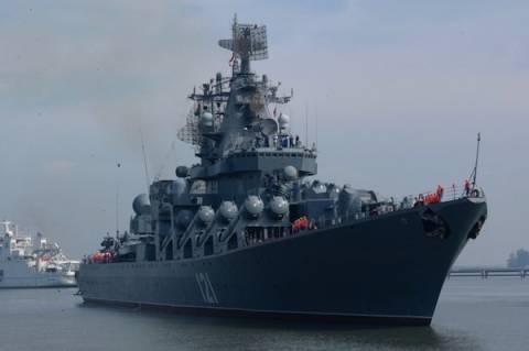 Ρωσικά ναυτικά γυμνάσια στη Μεσόγειο