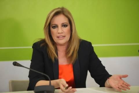 Φ. Γεννηματά:Ενθαρρύνει τη βία ο ΣΥΡΙΖΑ μέσω δηλώσεων των στελεχών του