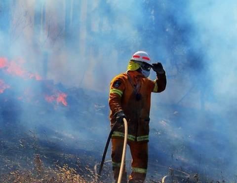 Τασμανία: Οι φλόγες έφτασαν μέχρι τη θάλασσα