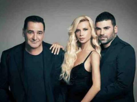 Καρράς, Πάολα και Παντελίδης όπως δεν τους έχετε ξαναδεί...! (pic)