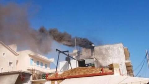 Παραλίγο τραγωδία στην Κρήτη από πυρκαγιά σε καμινάδα