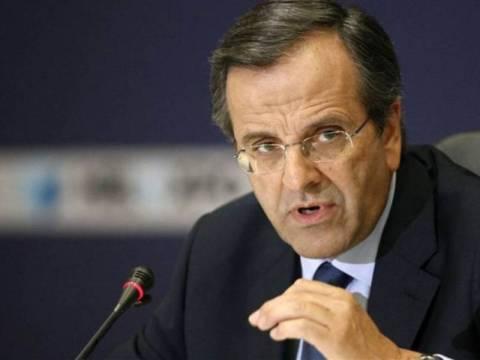 Σαμαράς: Προτεραιότητα η εξασφάλιση της ρευστότητας