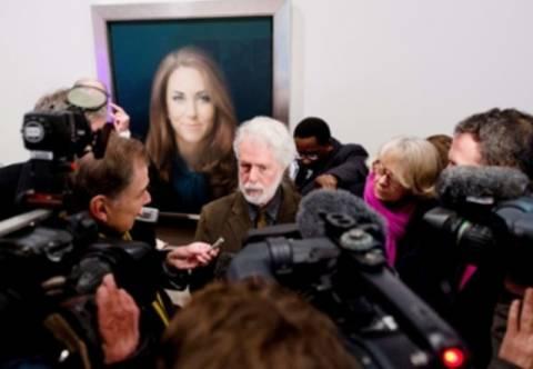 Σάλος για το πρώτο πορτρέτο της Κέιτ Μίντλετον