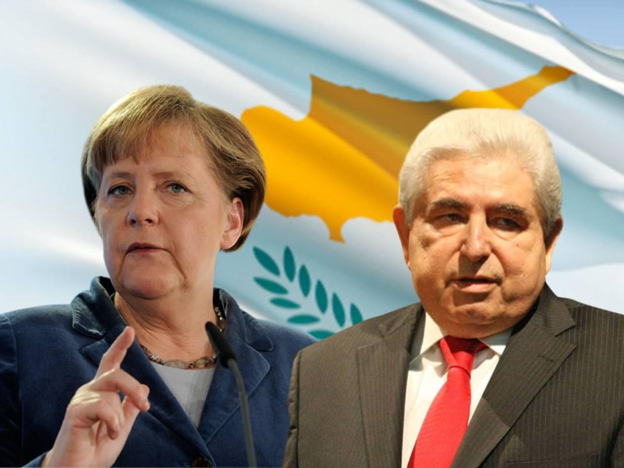 Στυγνός εκβιασμός Μέρκελ εναντίον του κυπριακού Ελληνισμού