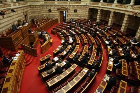 Αντιπαράθεση στη Βουλή για τις Πράξεις Νομοθετικού Περιεχομένου