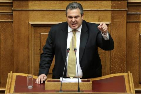 Καμμένος: Σήμερα μπαίνει το καρφί στο φέρετρο της Ελλάδας