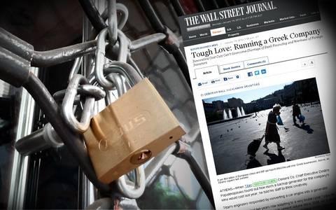 Wall Street Journal: H οδύσσεια του Ελληνα επιχειρηματία