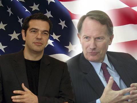 Συνάντηση – μήνυμα του Α. Τσίπρα με τον Αμερικανό πρεσβευτή