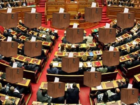 Επτά κάλπες θέλουν οι ΝΔ,ΠΑΣΟΚ,ΔΗΜΑΡ και 3 ψηφοφορίες