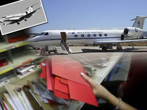 Το προεδρικό αεροσκάφος εκτελεί... χρέη αεροταξί!