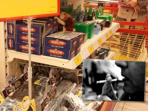 Τσιγάρα στο Jumbo σε κοινή θέα!