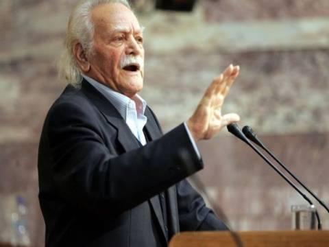 Γλέζος:Εκστρατεία συκοφάντησης του ΣΥΡΙΖΑ από την κυβέρνηση