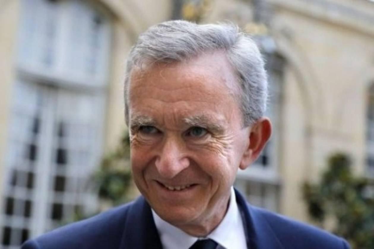 Φορολογικό καταφύγιο στο Βέλγιο για τον Αρνό του ομίλου Vuitton